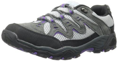 Propet Women's Blazer Hiking Shoe,Pewter/Purple,6 D US by Propét