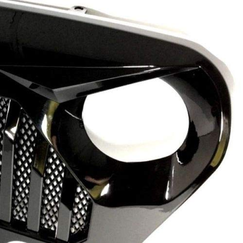 Auggies New Style Beast Car Front Mesh Insert Grille Grill Bumper For Jeep Wrangler TJ LJ 1997-2006