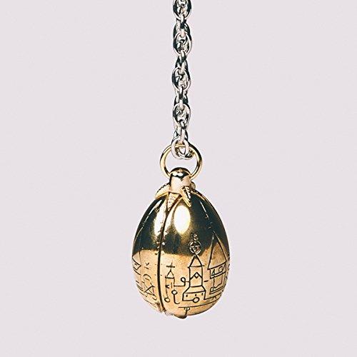 Harry Potter Goblet of Fire Hogwarts Triwizard Tournament Golden Egg Necklace
