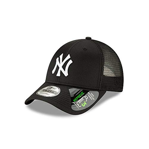 New York Yankees Repreve Recycled Fabric 9FORTY Adjustable Trucker Hat/Cap (New Era New York Yankees Trucker Cap)