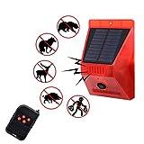 Solar Strobe Light with Motion Detector Solar Alarm
