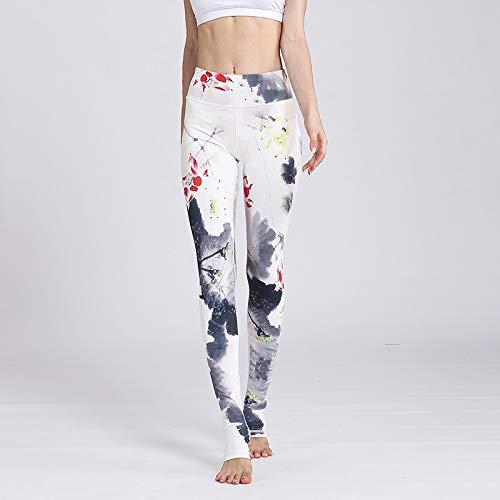 Amazon.com: CHITOP Women Sexy Yoga Pants Printed Sport Pants ...