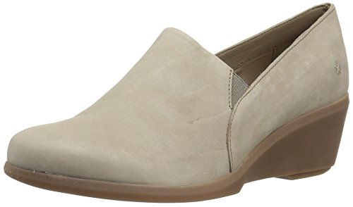 Hush Puppies Women's Fraulein Mariya Slip-on Loafer, Taupe, 8.5 W US by Hush Puppies