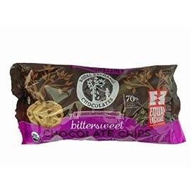 Equal Exchange Chocolate Chips, 95% organic, Dark, 10 oz (pack of 12 ) ( Value Bulk Multi-pack) 22 70 % DARK ORGANIC CHOCOLATE CHIPS SMALL FARMER GROWN FAIR TRADED
