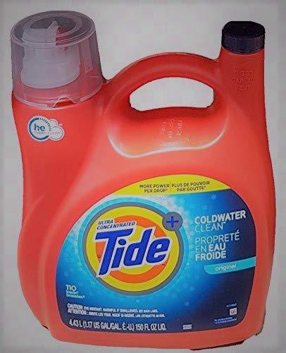 Ultra Concentrated New Tide Coldwater Clean Original Liquid Laundry Detergent 4.43 L/150 Fl. Oz - 110 Loads