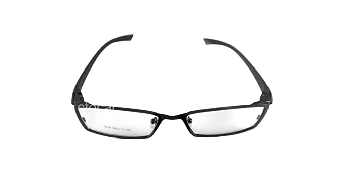 d9f266f69e Image Unavailable. Image not available for. Color  100% Pure Titanium  Spectacles for Men Glasses Optical Eyeglass Frame eyewear