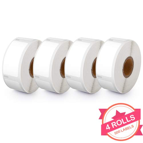 30336 Labels Purpose Multi (4 Rolls Compatible with Dymo 30336 White Small Multipurpose Labels for Dymo LabalWriter 400 450 4XL, 1