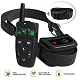 Dog Shock Training Collar Rechargeable Remote Control Waterproof 1600ft All Size