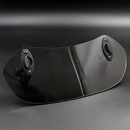 Bianco WOVELOT Deflettore Antivento per Moto con Clip Regolabile sul Parabrezza