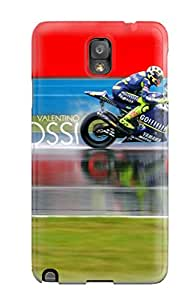 For Galaxy Note 3 Premium Tpu Case Cover Valentino Rossi Motogp Racer Protective Case