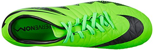 Nike Men's Hypervenom Phelon Ii Fg Training Running Shoes Green (Green/Schwarz) g2s3c
