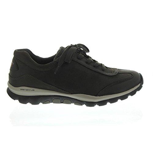 Gabor Shoes Rollingsoft, Zapatos de Cordones Derby para Mujer Gris (Anthrazit)