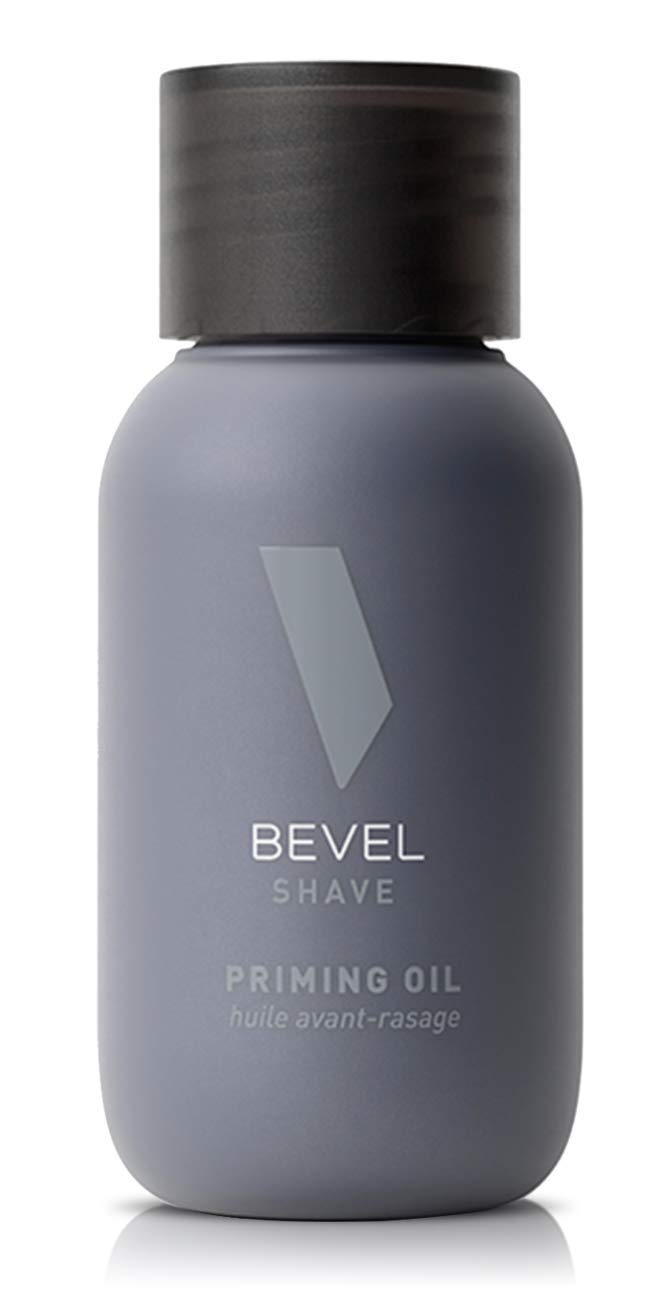 Bevel Priming Oil, Beard Care for Men, with Castor Oil and Olive Oil, Helps Soften Hair and Protects Skin from Irritation, 1 fl oz