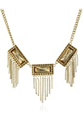 "Jessica Simpson ""Gia Gold"" Collar Necklace"
