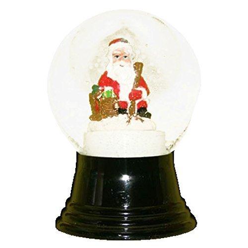 Alexander Taron Importer PR1493 Perzy Decorative Snowglobe with Medium Santa, 5 x 3 x 3 by Alexander Taron Importer by Alexander Taron Importer