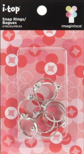 I-Top Rings 8/Pkg- -