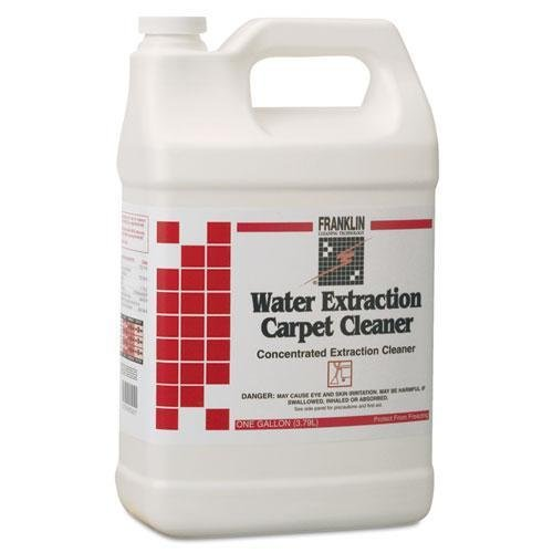 Franklin Cleaning Technology F534022 Water Extraction Carpet Cleaner, Floral Scent, Liquid, 1 gal. Bottle - Water Extraction Carpet Cleaner