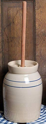 3 Gallon Hand-Turned Pottery Butter Churn