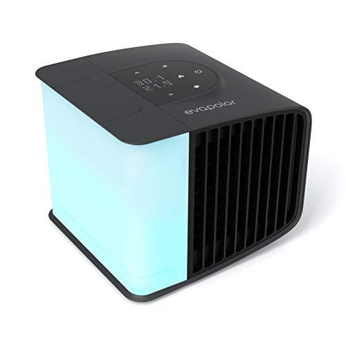 Evapolar evaSMART – Enfriador de aire y Humidificador – Ventilador de Refrigeración Portátil con Control de Aplicaciones…