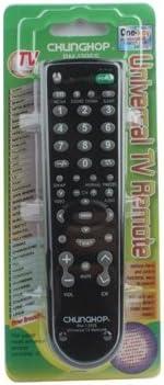 CHUNGHOP UNIVERSAL TV Remote Control (RM-139ES) (negro): Amazon.es: Electrónica