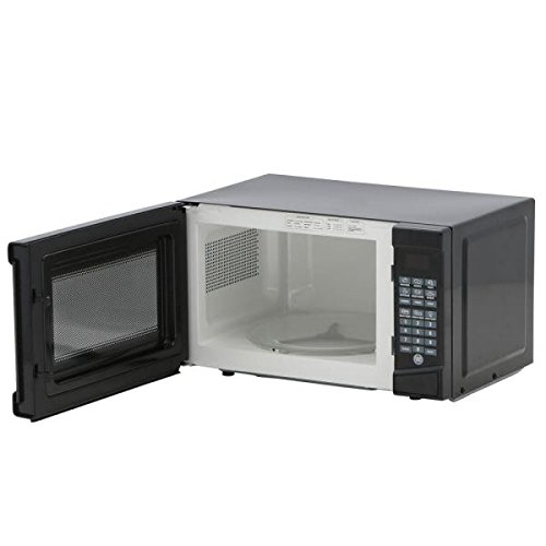 RCA 0.7 cu. ft. Countertop Microwave in Black-RMW733-BLACK