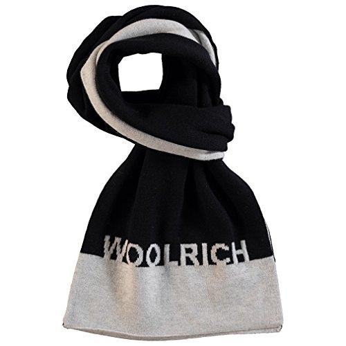 Wkacc1099 Bambino Basic Sciarpa Scarf B's Nero Woolrich Col 5SwqXRS