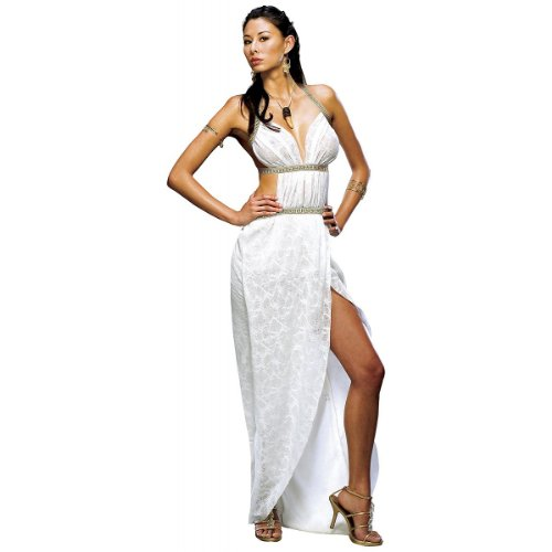 Queen Gorgo Costume - Small - Dress Size (Greek Goddess Sandals)
