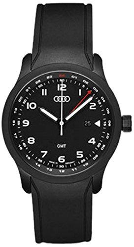 Audi Original Watch GMT Blackline Black Amazoncouk - Audi watch