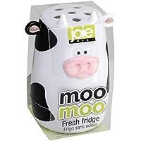 Joie Moo Moo Fresh Fridge Refrigerator & Freezer Baking Soda Holder Odor Absorber