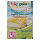 Baby Natura : Organic Baby Meal Brown Rice Porridge for Baby 120g (6 Packs)