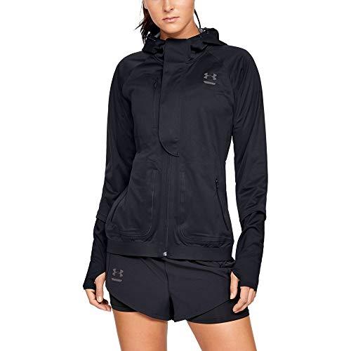 Under Armour Women's Perpetual Storm Run Jacket, Black, ()