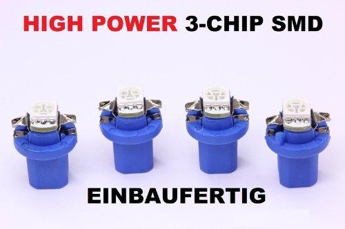 4 x blaue high Power SMD-LED Tacho Beleuchtung Opel Zafira A Corsa C ...