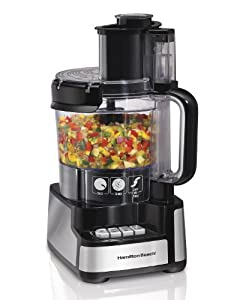 Hamilton Beach 70725 12-Cup Stack and Snap Food Processor – I love almost everything about this food processor