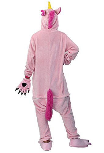Cosplay Unicorn Animale di Landove Pink Adulto Carnevale Onesie Anime Unisex Party Kigurumi Animali Pigiama Unicorno di Regalo Costume Compleanno Halloween InteroTuta Natale WYqdwq1g