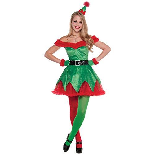 ChenFeL Women's Holiday Honey Elf (Holiday Honey Costumes)