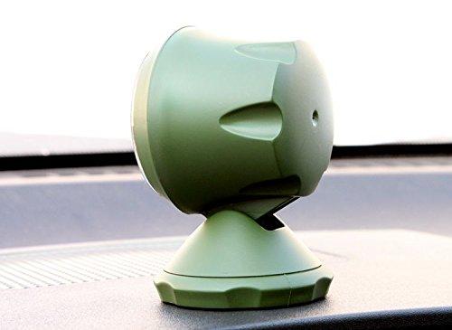 Chytaii 1Pcs Car Balancer Angle Slope Level Meter Car Inclinometer Car Tilting Instrument Black