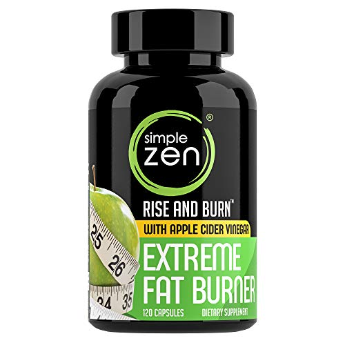 Simple Zen Best Natural Weight Loss Pills with Appetite Suppressant and Body Fat Burner. Diet Pills That Works Fast for Women Men. Supplements That Support Belly Fat Burn.