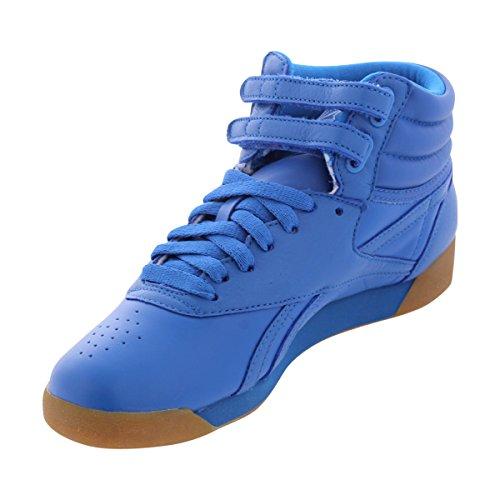 Reebok - Women's Freestyle Hi Fitness Sneakers - Blue/White (Freestyle Hi Sneaker)