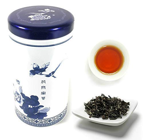 Tepacito Oolong Tea Loose Leaf Taiwan High Mountain Oriental Beauty Premium Grade - Queen Victoria Naming Honey Flavor Sugar Free White Oolong Tea US FDA Verified