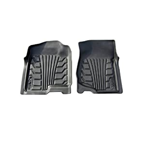 Lund 283028-G Catch-It Vinyl Grey Front Seat Floor Mat - Set of 2