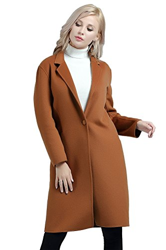 Hanayome-Womens-Warm-Winter-Wool-Coat-Lapel-One-Button-Regular-Fit-Trench-Jacket
