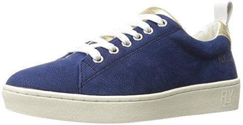 Fly London Vrouwen Maco833fly Sneaker Blauw Nubuck