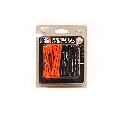 "Team Golf MLB 2-3/4"" Golf Tees, 50 Pack, Regulation Size, Multi Team Colors by Team Golf"