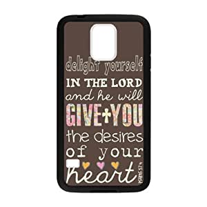 Bible Quotes Custom Protective Samsung Galaxy s5 Case (Laser Technology)Kimberly Kurzendoerfer