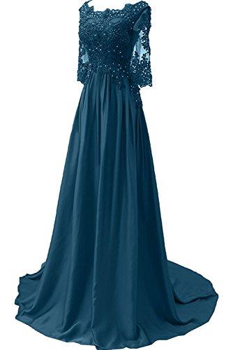 Jugendweihe Blau Linie Spitze Braut Kleider Langes Ballkleider La Bodenlang A Partykleider Abendkleider Marie Dunkel wCqpOnPxY