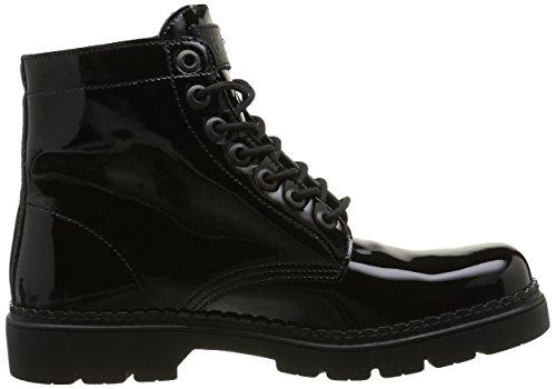 Art Herren Alpine20 877f Combat Boots Noir (Total Black)