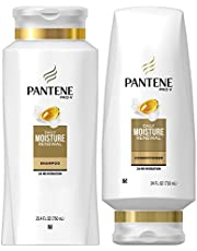Pantene Moisturizing Shampoo and Conditioner for Dry Hair, Daily Moisture Renewal, Bundle Pack, 1 Set