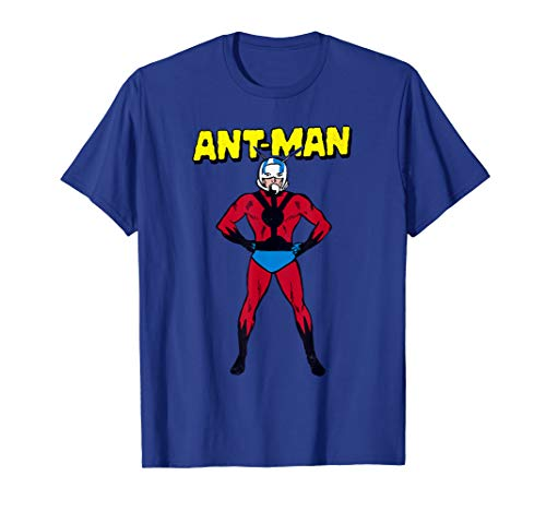 Marvel Ant-Man Classic Retro Comic Profile Graphic T-Shirt