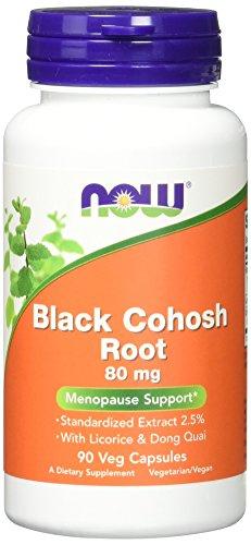 NOW Black Cohosh Capsules Pack