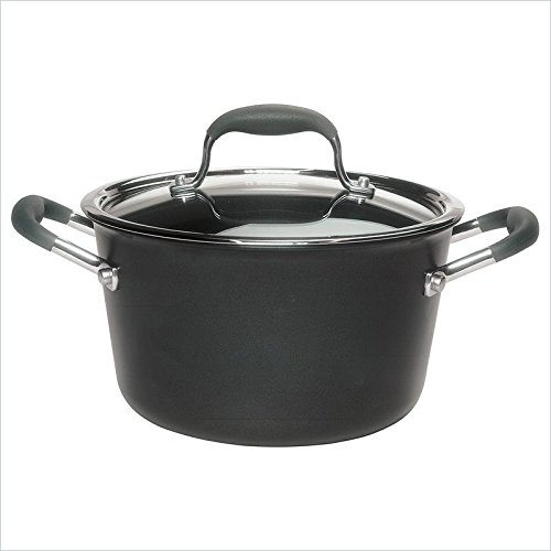 Pemberly Row Nonstick Sauce Pot in Gray